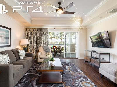 Photo for Newly Furnished Luxury Condo Minutes to Disney With Game Console!