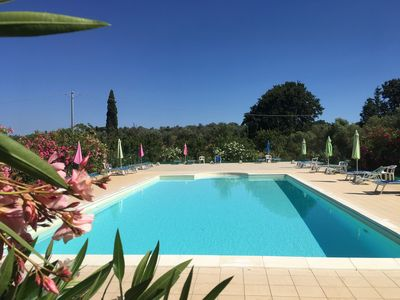 Photo for Tuscany, an agrotourism apartment between sea and countryside.