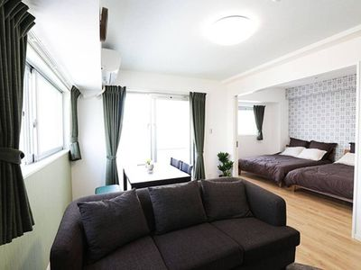 Photo for A very popular, newly built condominium in Sakaemachi!3 minute walk to Yui Rail Asato Station.Can accommodate up to 5 people!Many nearby restaurants