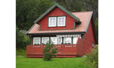 Photo for Beautiful holiday home for 6 persons with a panoramic view of the fjord