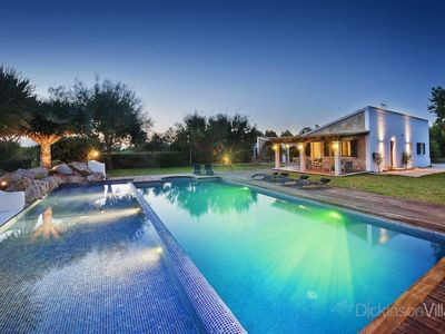 Photo for 4 bedroom Villa, sleeps 8 in Alcúdia with Pool, Air Con and WiFi