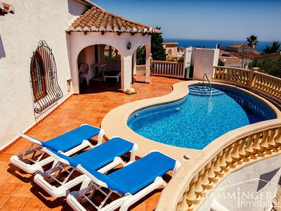 Photo for Beautiful villa from morning to evening in the sun, air conditioning