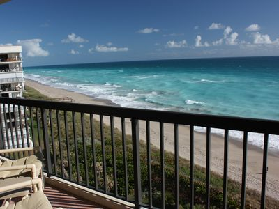 Photo for Incredible Unobstructed Ocean views from beachfront condo