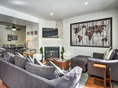 Photo for NEW! Townhome w/ Fireplace <1 Mi to Downtown Breck