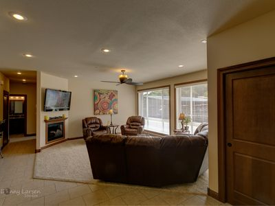 Photo for Lakefront Villa, Wheel Chair Accessible, No Stairs, Boat slip included.