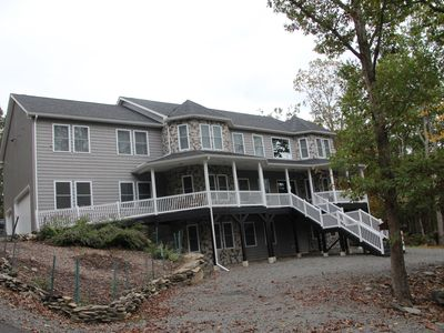 Photo for Masthope Lackawaxen Pa   9 Bedrooms 5 Ba sleeps 22, 7000+ Square feet