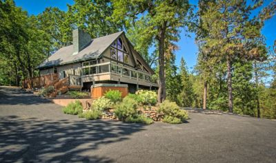 Photo for Private luxury custom Lodge with the best view of Lake Shasta and Shasta Caverns