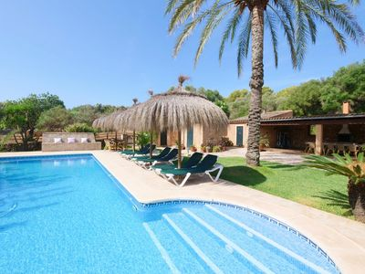 Photo for Country house villa with Mediterranean garden and large pool