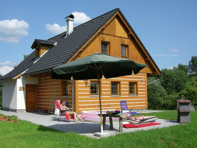 Photo for Beautiful villa in lovely nature reserve of the Krkonoše mountains at Roztoky u Jilemnice