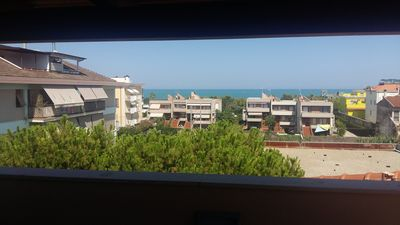 Photo for Penthouse overlooking the sea with a large terrace