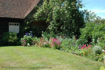A beautiful and private garden