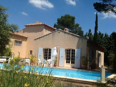 Photo for VILLA IN EXCEPTIONAL SETTING AND ENVIRONMENT PRIVILEGED 5 Km AIX CENTRE