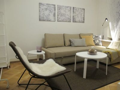 Photo for Charming & Stylish Apartment near City Center for 4 Persons # 102