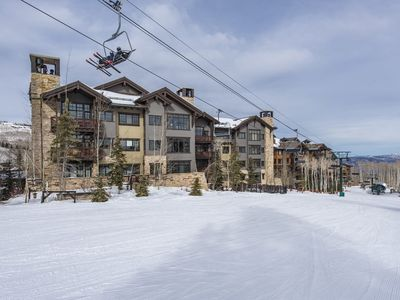 Photo for Luxury, remodeled in 2018: ski-in/ski-out at Deer Valley (Arrowleaf)