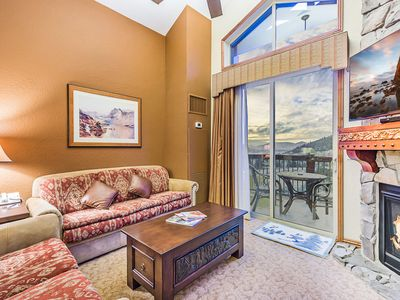 Photo for Enjoy the luxury of resort amenities, ski-in/ski-out in this Westgate Resort Penthouse Condo at C...
