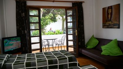 Photo for Studio Apartment with heated pool - close to beach