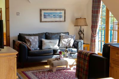 Our bright and spacious living area