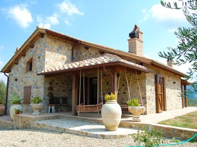 Photo for This charming stone cottage provides the perfect getaway for a family or small gathering of friends.