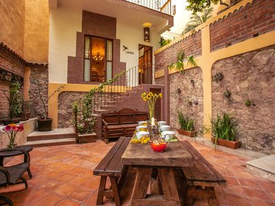 Photo for Private Guesthouse in an Old Town Staffed Villa w/Views and Heated Rooftop Pool