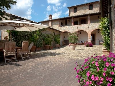 Photo for 5BR Villa Vacation Rental in SAN GUSME, Castelnuovo Berardenga
