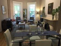 It is such a lovely place to stay while in Boston. Historic property in a great area.