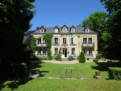 The front of the Chateau de Poigny