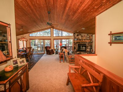 Photo for Beautiful Lakefront Chalet - Lake Views, Game Room, Close To Village And Slopes