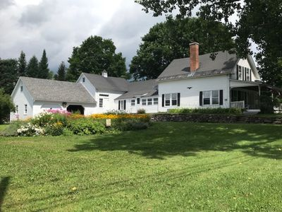 Photo for 4 bedroom Vermont Farmhouse centrally located near ski resorts and lakes