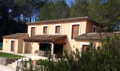 Photo for 4 Bed House In Private, Location in Lorgues With Pool And Tennis Court