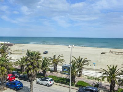 Photo for Apartment Rose des Sables in Canet-Plage - 4 persons, 1 bedrooms