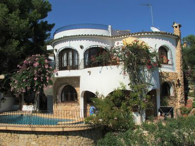 Photo for Excl. House - Villa with pool ideal for 2 families 4 bedrooms, 4-10 people