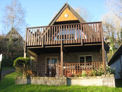 Photo for Premier Lodge With Hot Tub  In Tamar Valley, With Countyside Views