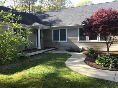 Photo for New Listing! North Falmouth, Bike to Beach, Town, Restaurants