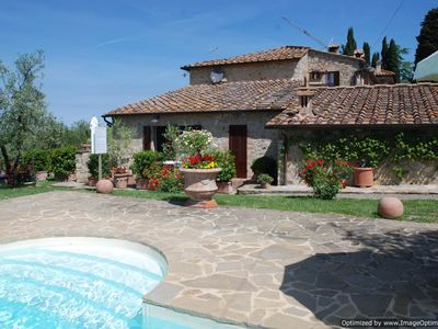 Photo for Monterrigioni Villa rental in the Chianti region