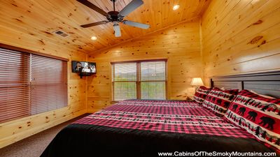 Photo for 4 BR Lodge in Gatlinburg Falls, Views of Mt. Leconte, Arcade, Home Theater, Hot