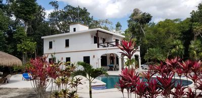 Photo for Private clean house with pool in peaceful jungle setting ,flexible cancellation