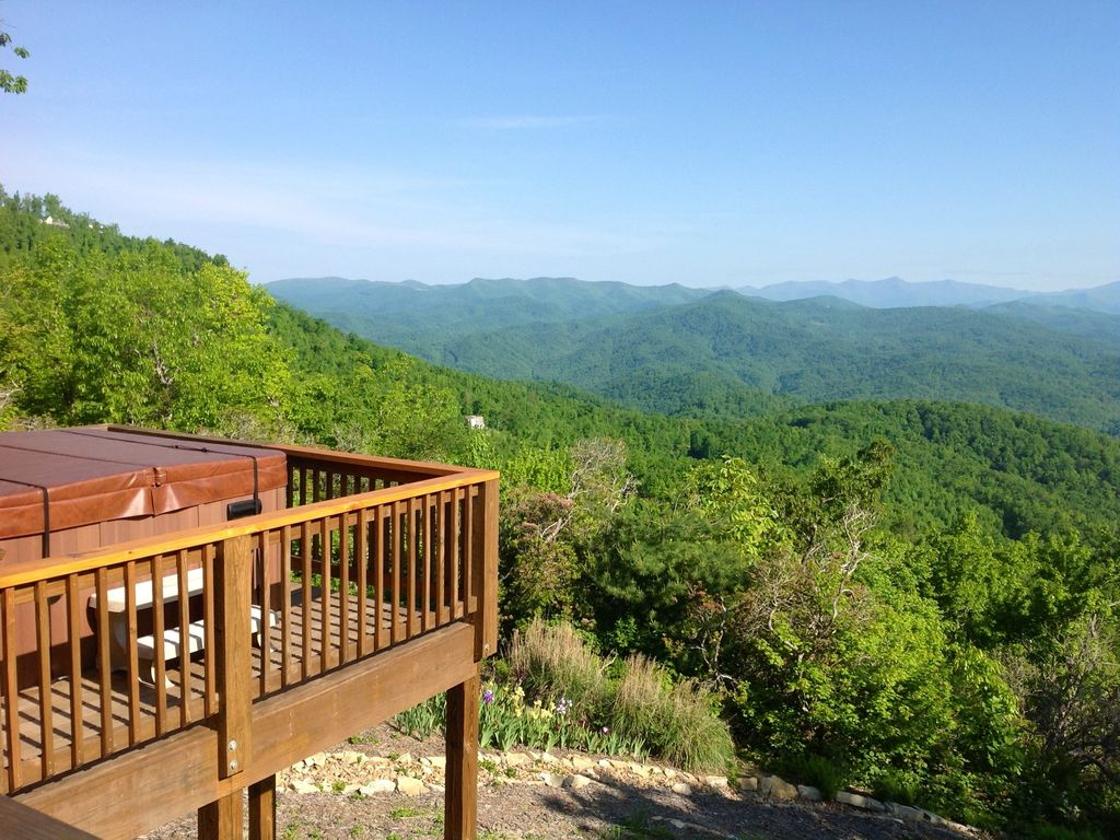 Luxury Log Cabin With Spectacular Views Black Mountain