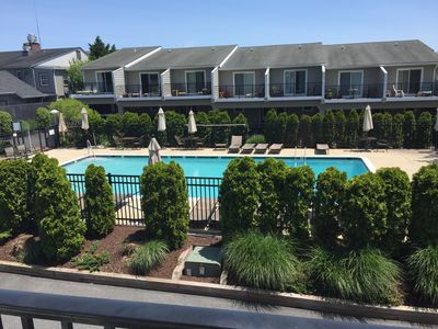 Photo for Newly Renovated, Rehoboth Beach Townhome With Saltwater Pool, 4 Blocks To Beach