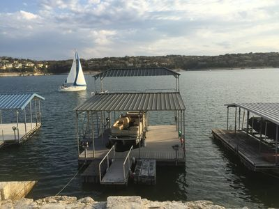 Photo for Lake Travis Waterfront - 4BR/3BA Outstanding Views, Boat Dock
