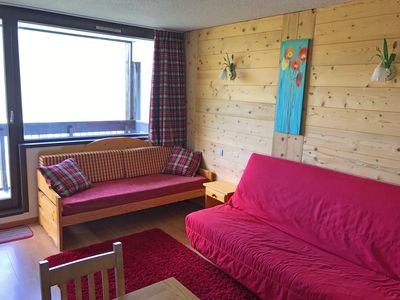 Photo for Studio with great views and location, close to the slopes, shops, restaurants.