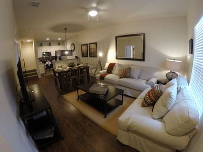 Photo for Budget Getaway - Lucaya Village - Beautiful Cozy 3 Beds 2 Baths Townhome - 3 Miles To Disney