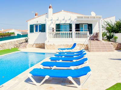 Photo for 3BR Villa Vacation Rental in Alaior, Balearic Islands