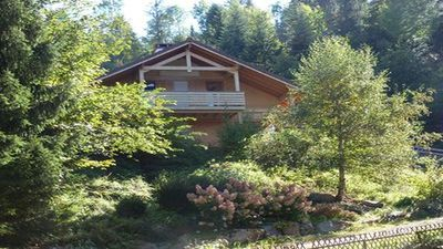 Photo for Gérardmer beautiful chalet 6 people near lake and downtown with wi-fi.