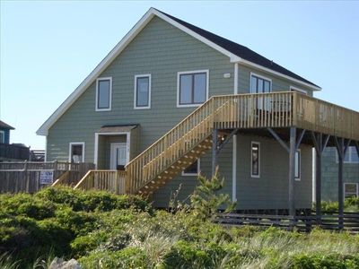 Photo for Fantastic Semi-Oceanfront Cottage in Quiet South Nags Head