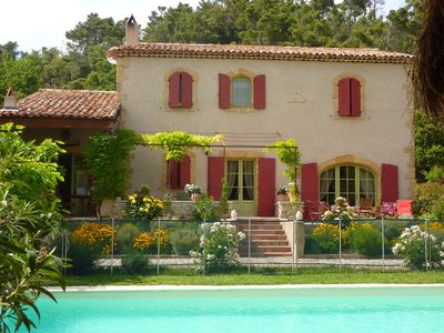 Photo for AT THE FOOT OF LUBERON, THE Hidden From Sight: POOL AND PRIVATE BOULODROME