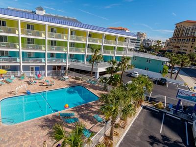Affordable Efficiency in the Heart of Clearwater Beach #315 - Best Rate on the Beach!