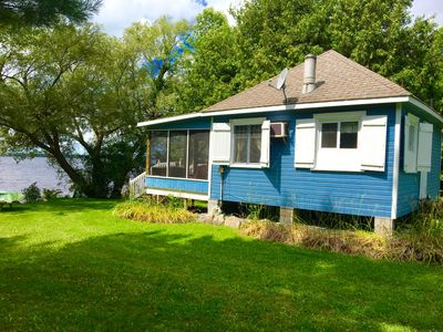 Blue Cottage - side view