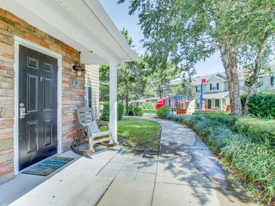 Photo for Family-friendly getaway w/ shared pool, communal playground, & easy beach access