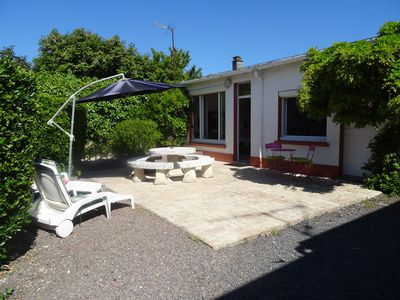 Photo for 1BR Cottage Vacation Rental in Bernières-Sur-Mer, Normandie