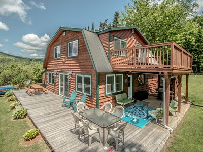 Photo for Beautiful Lake Front Cabin